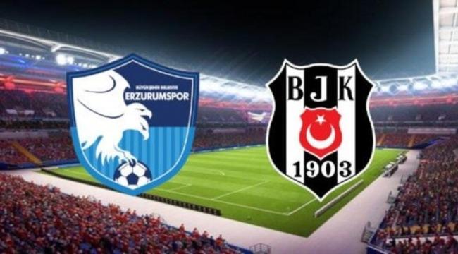 Büyükşehir Belediye Erzurumspor Beşiktaş'ı kupadan eledi!