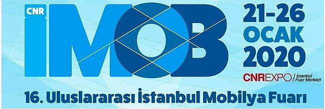 CNR İMOB Uluslararası İstanbul Mobilya Fuarı ziyaretçilerine kapılarını açıyor