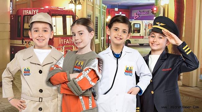 Çocuklar sömestrin keyfini KidzMondo'da çıkarıyor