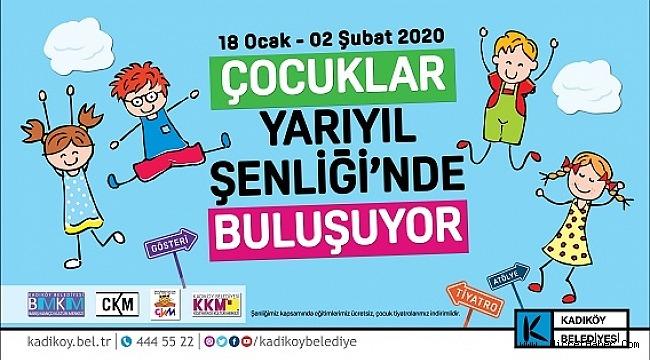 ÇOCUKLAR YARIYIL ŞENLİĞİ'NDE KADIKÖY'DE BULUŞUYOR