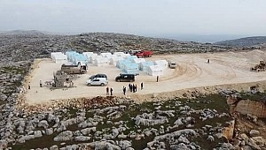 """Deniz Feneri Derneği İdlib'e """"İdlib Deniz Feneri Köyü"""" inşa ediyor"""