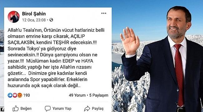 Düzce Kaynaşlı Belediye Başkanı Birol Şahin, Partime değil Allah'a hesap vereceğim