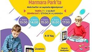 Eğlenerek Öğrenmek İsteyen Çocuklar Marmara Park'ta Marbotik ile Buluşacak