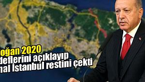 Erdoğan 2020 hedeflerini açıkladı