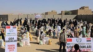 İHH İnsani Yardım Vakfı,11 bin Yemenliye yardım
