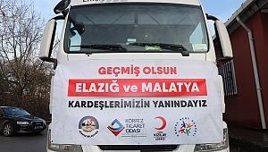 İstanbullu Elazığlılar'dan Deprem Bölgesi'ndeki Hemşehrilerine Destek