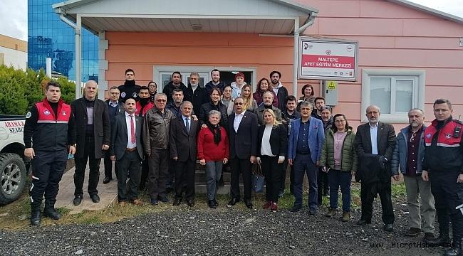 Maltepe Afet Eğitim Merkezi açıldı