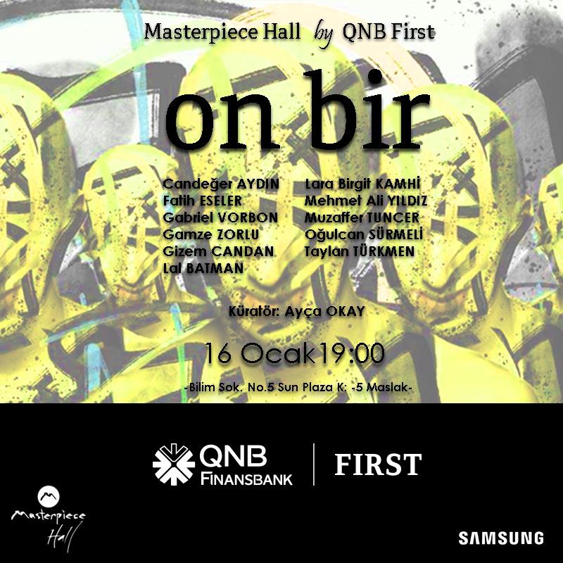 Masterpiece Hall by QNB First On Bir (11) Sergisi Kapılarını Açıyor