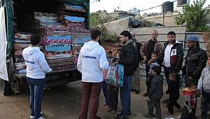 Sadakataşı'ndan Gazze'ye kış yardımı