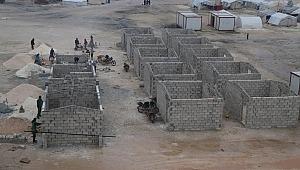 Sadakataşı'ndan İdlib'e mülteci kampı