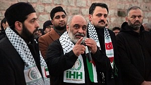 Tüm Türkiye'de Kudüs için 'Umut Cuması'