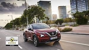 Yeni NISSAN JUKE Akıllı Teknolojileriyle Euro NCAP'ten 5 Yıldız Aldı