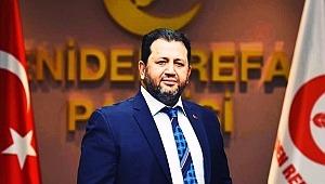 Yeniden Refah Partisi Genel Başkan Yardımcısı Menteşe, Turan'a ''Halk size artık güven duymuyor''