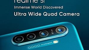 4 kameralı realme 5i, pil performansı ile baş döndürüyor