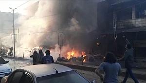 Afrin'de bombalı saldırı: 4 kişi öldü, 15 kişi yaralandı