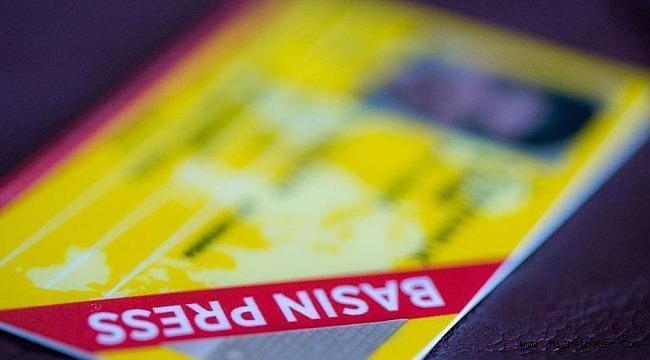 Basın kartları ile ilgili açıklama