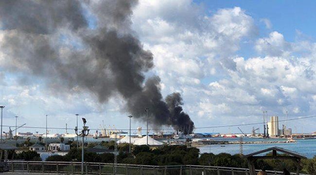Darbeci Hafter'in Trablus Limanı'na saldırısına sert tepki
