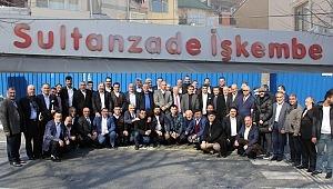 Erzurum Dostluk gurubu Eyüp sultan da Sabah Kahvaltısında Buluştular