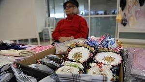 'Geçmişten Günümüze' nakış sergisi açıldı