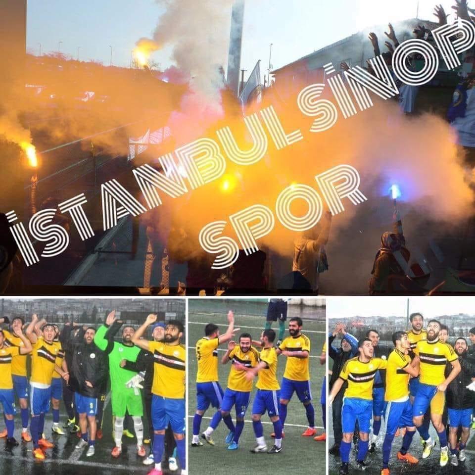 İstanbul Sinop Spor adım adım ŞAMPİYONLUĞA