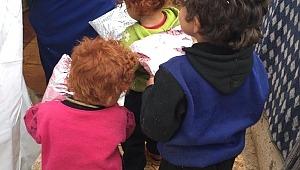 Reyhanlı Eğitim Köyü Öğrencilerinden İdlib'teki Yetimlere Destek