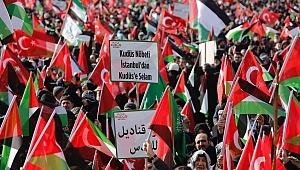 Saadet Partisi Yenikapı'da 'Büyük Kudüs Miting'i yaptı