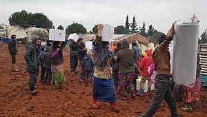Sadakataşı'ndan İdlib'e gıda yardım ulaştırmayı sürdürüyor.