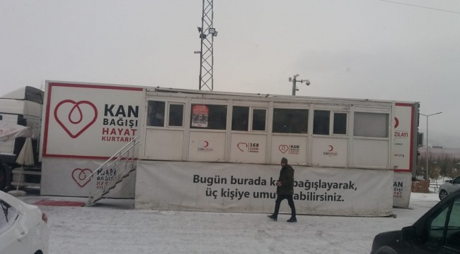 Türk Kızılay azalan kan stoklarına karşı tüm Türkiye'ye çağrı yaptı