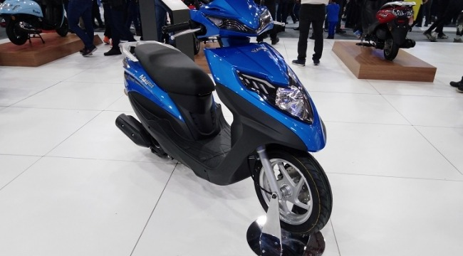 Türkiye'de üretilen Kanuni Mati 125 ilk kez Motobike 2020'de