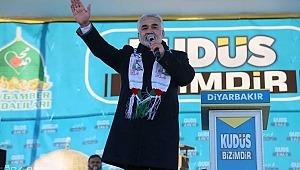 Yapıcıoğlu: Kudüs uğruna her türlü bedeli ödemeye hazırız