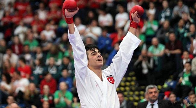 Bağcılarlı karateci Macaristan'dan altın madalyayla döndü