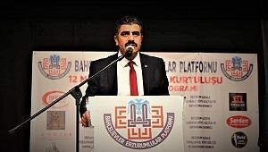 Bahçelievler Erzurumlular Platformu Erzurum'un kurtuluşunun 102.yılını kutladı