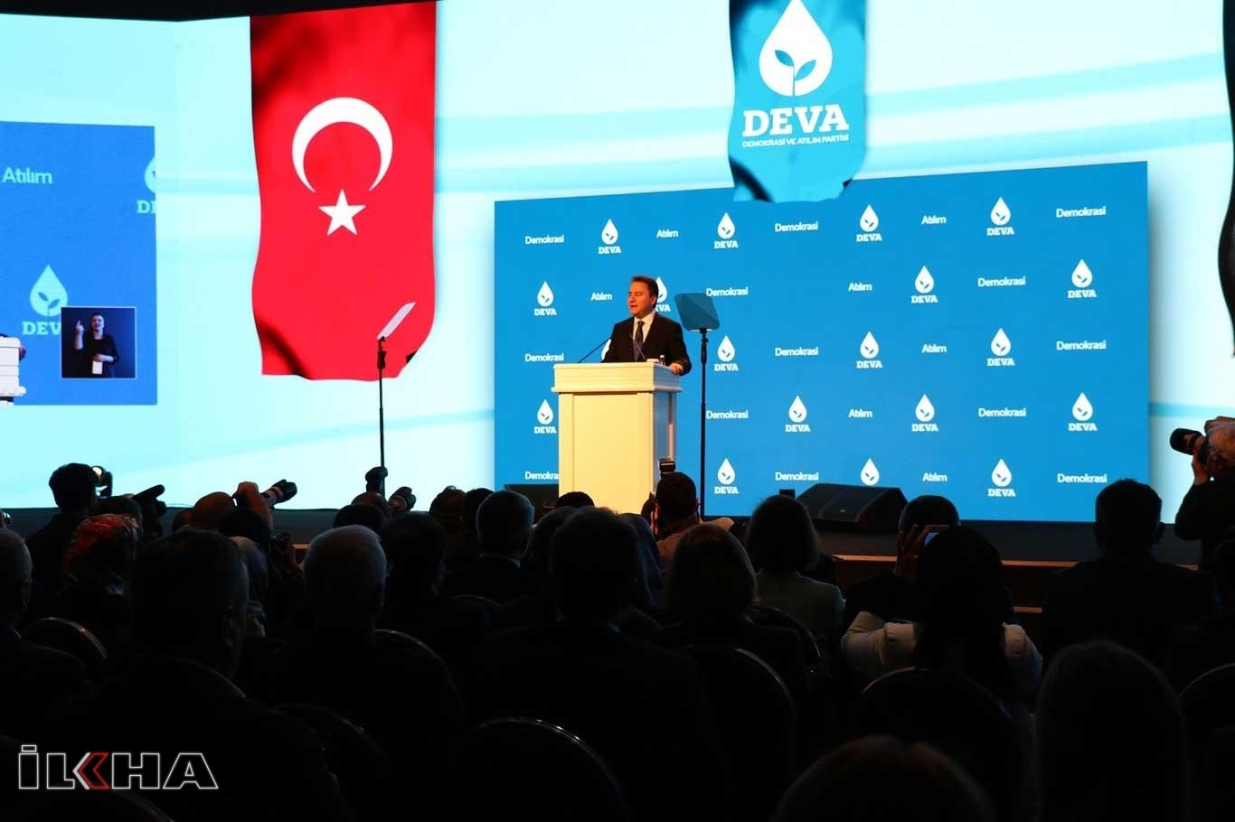 DEVA Partisi'nin kuruluş töreni Ankara'da yapıldı