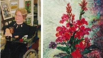 Engelli Bir Yaşamdan Arta Kalan Resimler Sergisi