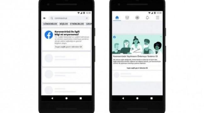Facebook, Koronavirüs (COVID-19) Bilgi Merkezi'ni Türkçe olarak Hayata Geçirdi