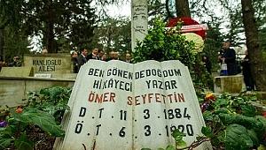 Türk Öyküsünün Kurucusu Ömer Seyfettin Ölümünün 100. Yılında Anıldı.