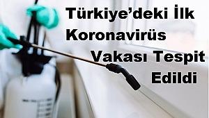 Türkiye'deki İlk Koronavirüs Vakası Tespit Edildi, Dezenfeksiyon Talepleri Rekor Kırdı