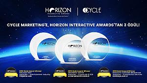 18. Uluslararası Horizon Interactive Awards'tan 3 ALTIN ödül!