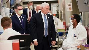ABD Başkan Yardımcısı Pence maske takmadı