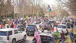 ABD sokaklarında karantina karşıtı eylemler hızla yayılıyor
