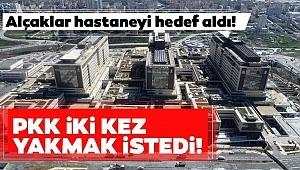 Başakşehir Şehir Hastanesinde PKK'lı iki işçi tarafından 3 kez yangın çıkarıldığı öğrenildi.