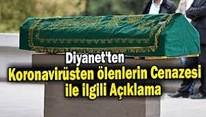 Diyanet'ten koronadan ölenlerin cenazesi için açıklama