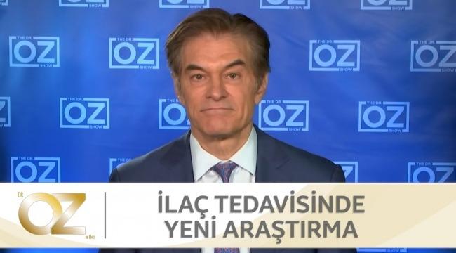Dr. Mehmet Öz Covıd-19 ilaç tedavisindeki gelişme gösteren önemli bir çalışmayı paylaştı.