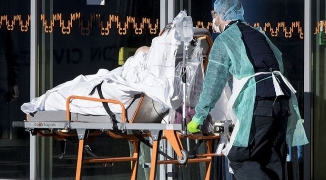 Fransa'da Kovid-19 nedeniyle kabus gün