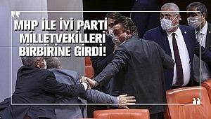 İYİ Parti'li Halil İbrahim Oral ile MHP'li Cemal Enginyurt arasında sert tartışma yaşandı