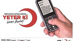 Kızılay'ın Ramazan Yardımı Sms Koduyla Telefonlara Gelecek