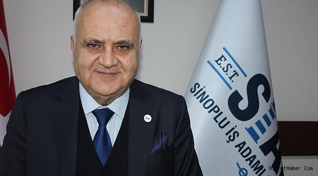 Sinoplu İş Adamları Derneği(SİAD)Başkanı Yıldırım ''Sinop'a Ramazan Öncesi Gıda Yardım''sözü