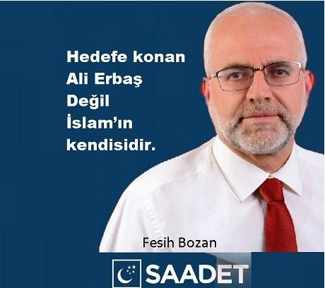 Soruşturma İslama Açılmıştır Diyanet İşleri Başkanı Ali Erbaş'a değil
