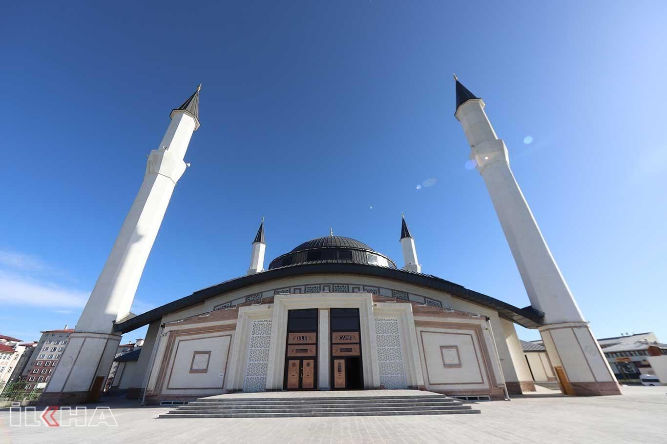 Ağrı Ulu Camii 71 gün sonra sessizlikten kurtuluyor