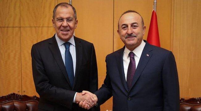 Bakan Çavuşoğlu Lavrov ile görüştü